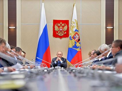 Владимир Путин проводит заседание Совета при президенте РФ по стратегическому развитию и приоритетным проектам