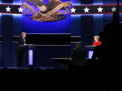В США прошли первые теледебаты кандидатов в президенты страны - Хиллари Клинтон и Дональда Трампа