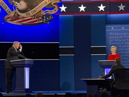 Дебаты кандидатов в президенты США - Дональда Трампа и Хиллари Клинтон
