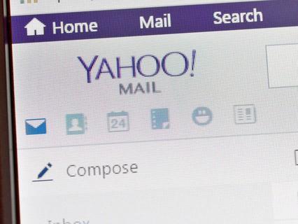 Страница сайта Yahoo!