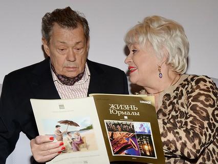 Николай Караченцов с супругой Людмилой Поргиной