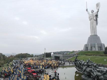 На Украине отмечают День защитника страны