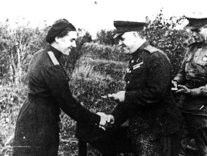 Георгий Жуков и Лидия Захарова