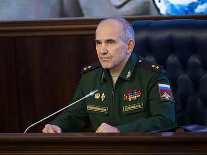 Начальник Главного оперативного управления Генштаба ВС РФ генерал-лейтенант Сергей Рудской