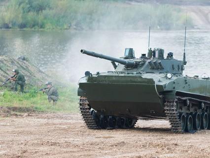 "БМД-4. Боевая машина десанта. ""Армия-2016"""