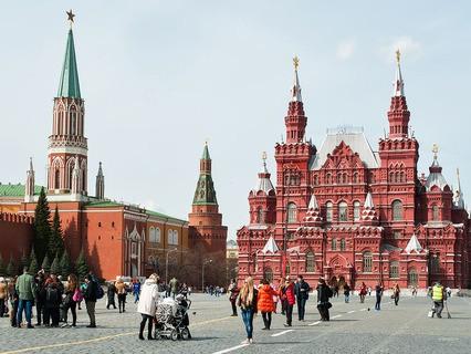 Красная площадь. Вид на Исторический музей