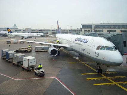 Самолёт авиакомпании Lufthansa