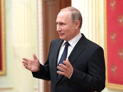 Владимир Путин обратился к прессе перед заседанием правительства