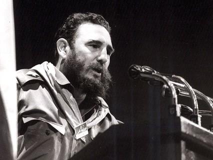 Лидер Кубинской революции Фидель Кастро