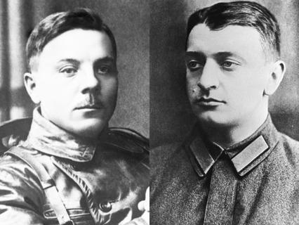 Климент Ворошилов и Михаил Тухачевский