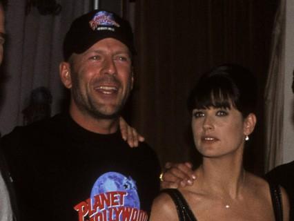 Брюс Уиллис и Деми Мур. 1995 год