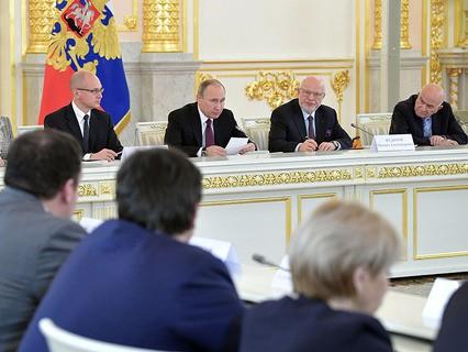 Владимир Путин проводит заседание Совета по развитию гражданского общества и правам человека