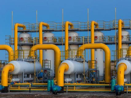 Фильтр-сепараторы и пылеуловители, площадка очистки газа