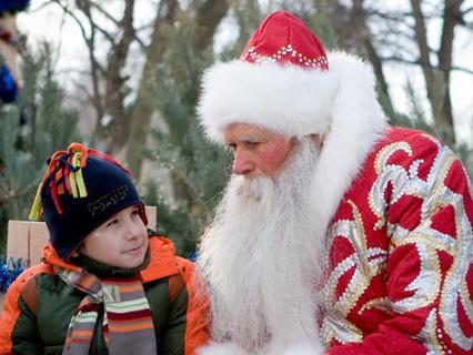 """Новогоднее кино. """"Дедушка в подарок"""""""