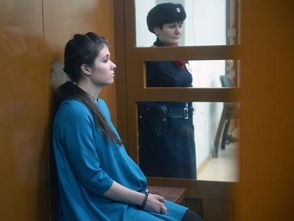 Бывшая студентка МГУ Александра Иванова (Варвара Караулова)