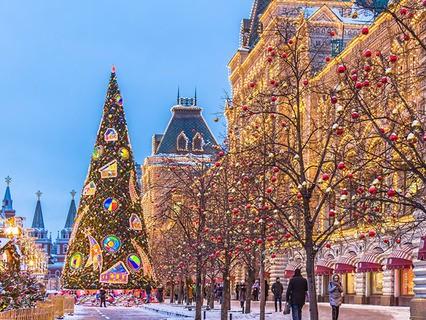 """Новый год в прямом эфире. Анонс. """"Новый год на Красной площади"""""""