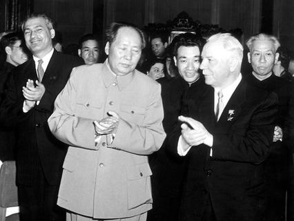 Председатель КНР Мао Цзэдун