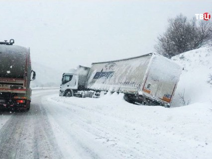 Морозная погода в Канаде