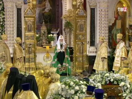 Великая Рождественская вечерня. Трансляция из Храма Христа Спасителя-2016