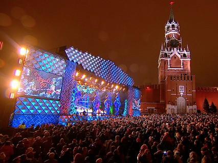 НГ на Красной площади