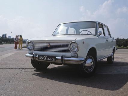 Советский легковой автомобиль ВАЗ 2101