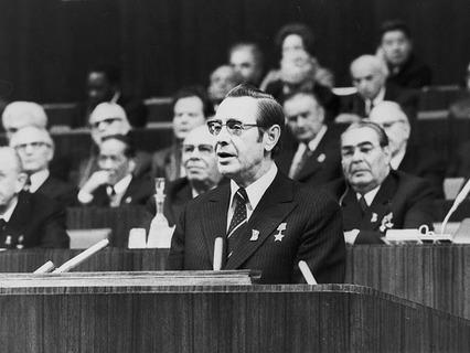 Первый секретарь ЦК Компартии Белоруссии Пётр Машеров