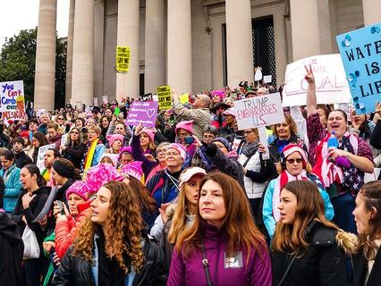 """""""Марш женщин"""" в Вашингтоне"""