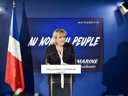 Лидер французской оппозиции Марин Ле Пен
