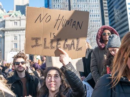 Протесты в США против миграционной политики