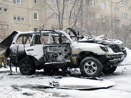 Автомобиль, подорванный в Луганске, принадлежал начальнику управления народной милиции ЛНР полковнику Олегу Анащенко