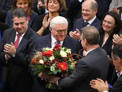 Президент Германии Франк-Вальтер Штайнмайер