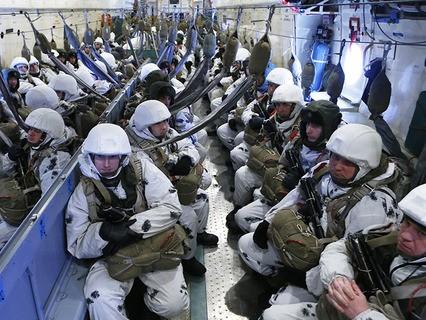 Учения Воздушно-десантных войск