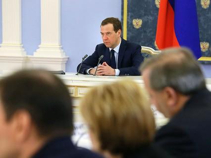 Дмитрий Медведев проводит заседание правительственной комиссии по использованию информационных технологий