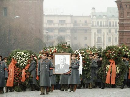 Похороны Л.И. Брежнева