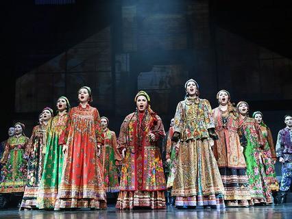 """Надежда Бабкина и театр """"Русская песня"""""""