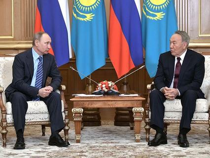Владимир Путин провёл переговоры с президентом Казахстана Нурсултаном Назарбаевым