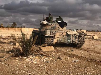 Пальмира при поддержке ВКС РФ была взята войсками Сирии