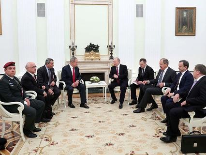 Владимир Путин и премьер-министр Израиля Биньямин Нетаньяху на встрече в Москве