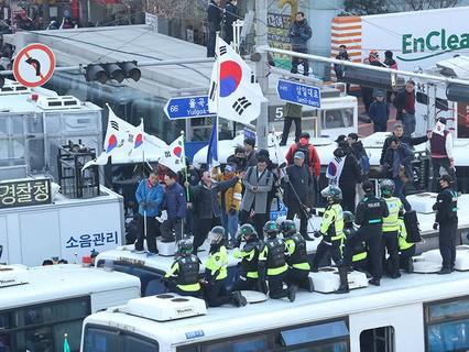 Митинг в Сеуле