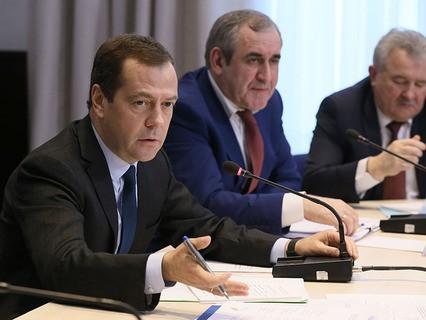Встреча Дмитрия Медведева с представителями малого и среднего бизнеса в сфере автоперевозок