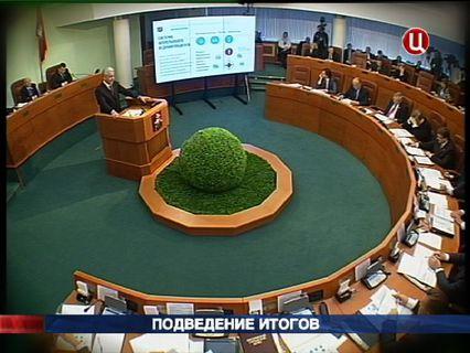 В центре событий с Анной Прохоровой Эфир от 21.10.2012