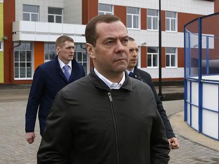 Рабочая поездка Дмитрия Медведева в Тамбовскую область