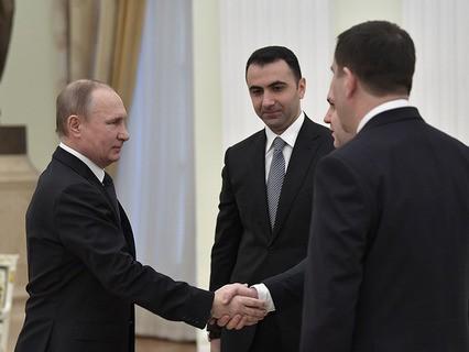 Владимир Путин на встрече с главами спецслужб СНГ