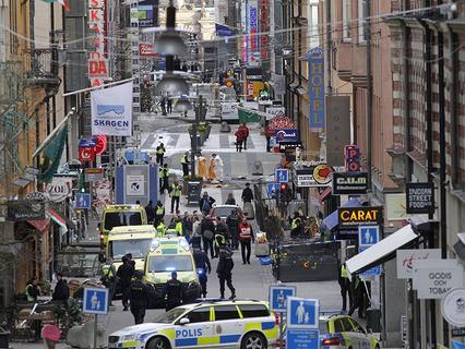Последствия теракта в Стокгольме