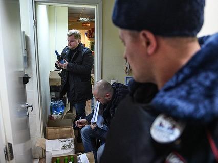 Рейд по выявлению контрафактного алкоголя в Москве