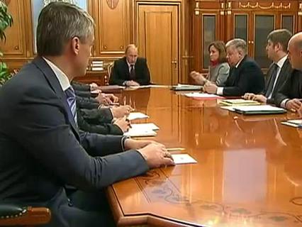 В центре событий с Анной Прохоровой Эфир от 02.10.2011