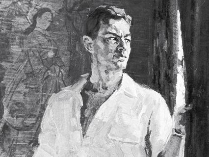 Портрет Рихарда Зорге
