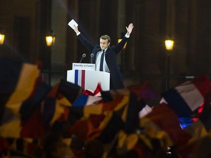 Избранный президент Франции Эммануэль Макрон