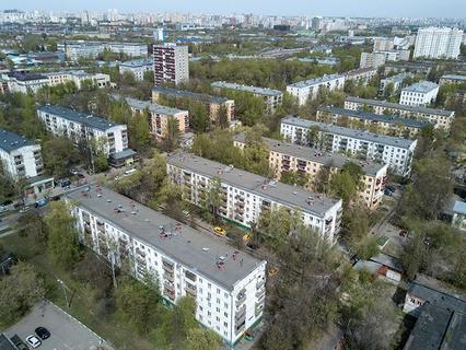 Пятиэтажные дома, включённые в программу реновации в Москве