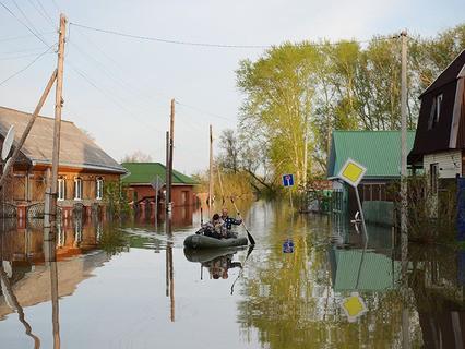 Паводок в Тюменской области
